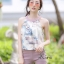 เสื้อผ้าเกาหลีพร้อมส่ง ชุดเซท เสื้อปล่อยชายลายผ้า สีสวย thumbnail 3