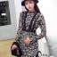 ชุดเดรสเกาหลี พร้อมส่งMini dress งานลูกไม้ทั้งชุด thumbnail 1