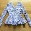 เสื้อผ้าเกาหลี พร้อมส่งเสื้อแขนยาวผ้าลูกไม้สีพาสเทลสไตล์เบสิก thumbnail 16