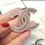 พร้อมส่ง Diamond Chanel Brooch เข็มกลัดชาแนล มีปั้ม Logo thumbnail 3