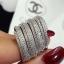 พร้อมส่ง Diamond Ring งานเพชร CZ แท้ thumbnail 3