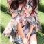 ชุดเดรสเกาหลี พร้อมส่งเดรสผ้าวิสโคสสีชมพูพิมพ์ลายธรรมชาติ thumbnail 5