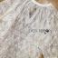 เสื้อผ้าเกาหลี พร้อมส่งเสื้อผ้าลูกไม้สีขาวงาช้างสไตล์ลำลอง ต thumbnail 8
