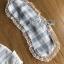 เสื้อผ้าเกาหลี พร้อมส่งเซ็ตชุดนอนผ้าคอตตอนลายตารางสีพาสเทล thumbnail 13