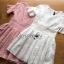 ชุดเดรสเกาหลี พร้อมส่งมินิเดรสผ้าลูกไม้สุดหวาน thumbnail 7