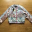 Sabina Street Style Chic Flower Embroidered Pink Satin Bomber Jacket thumbnail 7
