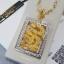 พร้อมส่ง สร้อยคอมังกรล้อมเพชร งานทอง 5 ไมครอน thumbnail 2