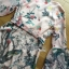 ชุดเดรสเกาหลี พร้อมส่งเดรสผ้าวิสโคสสีชมพูพิมพ์ลายธรรมชาติ thumbnail 13