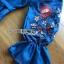 ชุดเดรสเกาหลี พร้อมส่งเดรสผ้าเดนิมบางปักลายดอกไม้สไตล์สาวคันทรี thumbnail 11