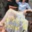 เสื้อผ้าเกาหลี พร้อมส่งAzura Skyblue Shirt + Embroidered Luxury Skirt thumbnail 15