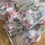 ชุดเดรสแฟชั่น พร้อมส่งเดรสผ้าทูลเลปักดอกไม้กุหลาบสีชมพูทับลูกไม้สีชมพู thumbnail 12