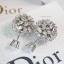 พร้อมส่ง Tribales Dior Earring ต่างหูตุ้มเพชรงานจิวจาก Dior thumbnail 2