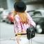 เสื้อผ้าเกาหลี พร้อมส่งGucci Jackets แจ๊คเก็ตสุดแนว วิ้งๆสีเด่นสวย thumbnail 7