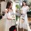 Carine Casual Chic Off-Shoulder Ruffle Maxi Dress thumbnail 3
