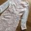 ชุดเดรสเกาหลี พร้อมส่งเดรสผ้าลูกไม้สีขาวซับในสีนู้ดตกแต่งแขนชิฟฟอน thumbnail 13