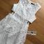 ชุดเดรสเกาหลี พร้อมส่งLady Mini candy lace dress thumbnail 9