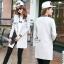 เสื้อผ้าเกาหลี พร้อมส่งเสื้อแจ็คเก็ตเบสบอลตัวยาวเนื้อผ้านิ่มใส่สบาย thumbnail 13