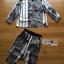 เสื้อผ้าเกาหลี พร้อมส่งเซ็ตเชิ้ตและกางเกงผ้าซาตินพิมพ์ลายสไตล์แคชชวลชิค thumbnail 12