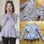 เสื้อผ้าเกาหลี พร้อมส่งเสื้อแขนยาวผ้าลูกไม้สีพาสเทลสไตล์เบสิก thumbnail 7