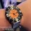 Seiko Monster Automatic รุ่น SRP315K2 นาฬิกาข้อมือผู้ชาย สีดำเงิน สายสแตนเลส thumbnail 9