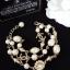 พร้อมส่ง Chanel Pearl Bracelet สร้อยข้อมือมุกชาแนลเกรดไฮเอน thumbnail 2