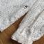 เสื้อผ้าเกาหลี พร้อมส่งเสื้อผ้าลูกไม้สีขาวสไตล์วินเทจสุดหวาน thumbnail 10