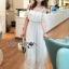 Carine Casual Chic Off-Shoulder Ruffle Maxi Dress thumbnail 1