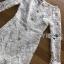 ชุดเดรสเกาหลี พร้อมส่งเดรสผ้าลูกไม้สีขาวสไตล์วินเทจ thumbnail 9