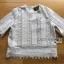 เสื้อผ้าเกาหลี พร้อมส่งเสื้อแขนสั้นผ้าลูกไม้ตกแต่งผ้าถักโครเชต์ thumbnail 14