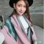 เสื้อผ้าเกาหลี พร้อมส่ง ผ้าคลุมไหล่แบรนด์ GUCCI เนื้อผ้าสวยมาก thumbnail 2