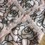 ชุดเดรสเกาหลีพร้อมส่ง เดรสทอลายดอกไม้ทรงเปิดไหล่ติดกระดุม thumbnail 11