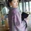 เสื้อผ้าเกาหลี พร้อมส่งผ้าคลุมไหล่ลายหอไอเฟล เนื้อผ้าสวยมาก thumbnail 4