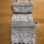 ชุดเดรสเกาหลี พร้อมส่งเดรสผ้าลูกไม้ขาวฉลุบนพื้นผ้าสีดำตั thumbnail 12