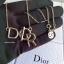 พร้อมส่ง Christian Dior Necklace สร้อยคอ กำไลแบรนด์ดิออ thumbnail 3