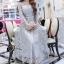 ชุดเดรสเกาหลี พร้อมส่งLong Dress -งดงาม สวยหรูและดูแพงมาก thumbnail 1