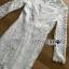 ชุดเดรสเกาหลี พร้อมส่งเดรสผ้าลูกไม้สีขาวตกแต่งระบายสุดหรู thumbnail 16