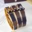 พร้อมส่ง Louis Vuitton Bracelet กำไลหลุยวิกตอง เพชรงาน stainless steel แท้สวยมากกกกก thumbnail 1