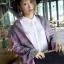 เสื้อผ้าเกาหลี พร้อมส่งผ้าคลุมไหล่ลายหอไอเฟล เนื้อผ้าสวยมาก thumbnail 5