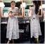 Hana Classic Feminine Lace Maxi Dress in White thumbnail 3