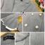 เสื้อผ้าเกาหลี พร้อมส่งเสื้อสูทแขนชายระบาย งานซับเสริมช่วงแขนสีขาว thumbnail 13