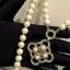 พร้อมส่ง สร้อยคอ Chanel งานมุกสีขาวนวล ดูหรูหรา มีระดับ thumbnail 6