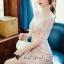 เสื้อผ้าเกาหลีพร้อมส่ง สวยหวานด้วยทรงจั้มสูทกางเกงขาสั้น thumbnail 7