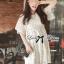 ชุดเดรสเกาหลี พร้อมส่ง มินิเดรสผ้าลูกไม้สไตล์เจ้าหญิง thumbnail 3