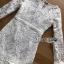 ชุดเดรสเกาหลี พร้อมส่งเดรสผ้าลูกไม้สีขาวสไตล์วินเทจ ลุคนี้เป็นสาวเฟมินีน thumbnail 10