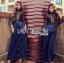 เสื้อผ้าเกาหลี พร้อมส่งจัมป์สูทขายาวผ้าลูกไม้สีดำและกางเกงสีน้ำเงิน thumbnail 8