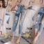 เสื้อผ้าเกาหลี พร้อมส่งกางเกงยีนส์ทรงเดฟ ผ้ายีนส์ฮ่องกง thumbnail 6