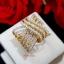 พร้อมส่ง Diamond Ring งานเพชร CZ แท้ งานสวยมาก thumbnail 4