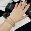 พร้อมส่ง Diamond Bracelet & Ring งาน 3 กษัตริย์ สีเงิน/ทอง/พิ้งโกลด์ thumbnail 5