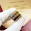 พร้อมส่ง Love4 diamond Ring แหวนรุ่นLOVE เพชร4เม็ด ฝังCZ8A thumbnail 4