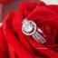 พร้อมส่ง Diamond Ring งานเพชรล้อม ใช้ CZ แท้ thumbnail 4
